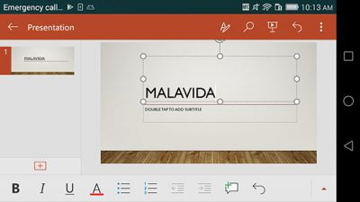 mrppt ir How to create PowerPoint with mobile 2 -ساخت پاورپوینت با موبایل, ساخت پاورپوینت با گوشی, چگونه با موبایل پاورپوینت بسازیم, چگونگی ساخت پاورپوینت با گوشی, ایجاد پاورپوینت در موبایل